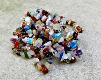 "36"" Multi Stone Chip Strands (lot of 3 strands)"