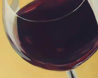 Popular items for wine glass painting on etsy for Acrylic paint on wine glasses