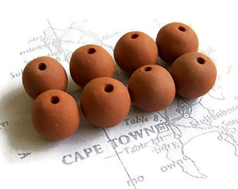 Terracotta Beads, Handmade Beads,  African Beads