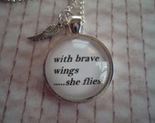Brave Wings Necklace