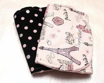 The Paris Burp Cloths - Set of 2