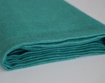 Linen Fabric - Green