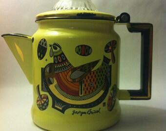 Vintage Georges Briard Coffee Pot