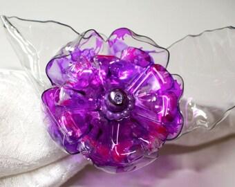 Custom Wedding Napkin Ring Set, Personalized, Home Decor, Flower, Custom  Table Decor