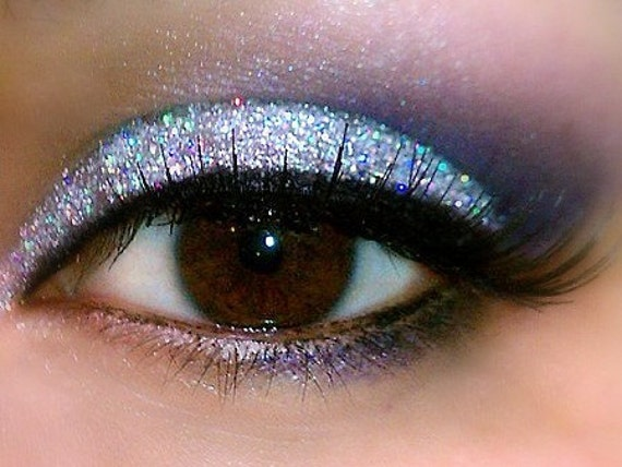 SILVER SPARKLE Professional Grade Cosmetic Glitter Eyeshadow