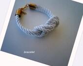 handmade silk knot bracelet