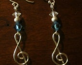 my earrings are alive with the sound of music