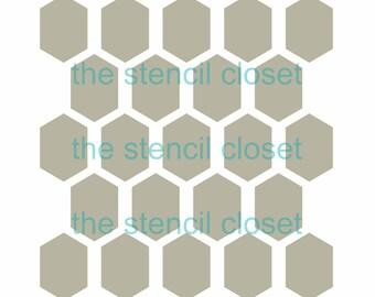 12 x12 Honeycomb stencil