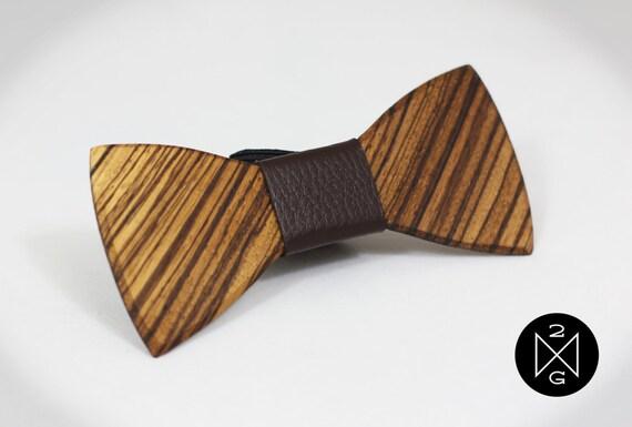 wood bow tie quot mr t quot