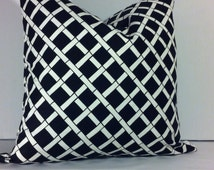 Premier Print Cadence, Black/White,20x20, Pillow Cover, zipper closure, Modern Pillow. Throw Pillow