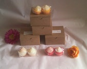 Scented Wax Melts ~ Mini Cupcake Shape Wax Melts - Hand pour Candle Melts -2oz