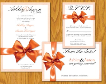 Digital Wedding Invitation Suite Template