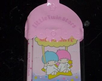 Vintage Sanrio 1976 1984 Little Twin Stars Memo Mate New Unused