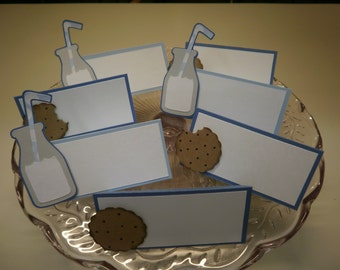 Milk and Cookies  Food/Name Cards