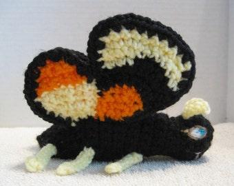 Crochet Monarch Butterfly Toy