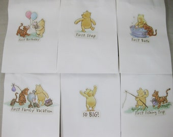 24 Classic Winnie the Pooh Party Bags
