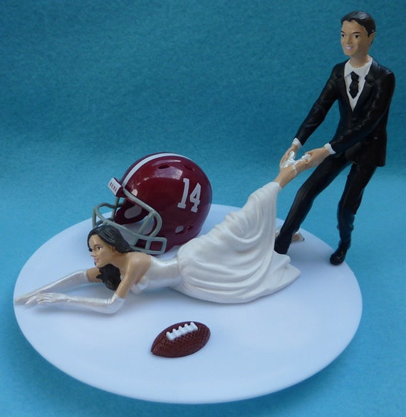 alabama football wedding cake toppers unavailable listing on etsy 10645