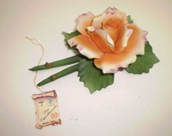 Capodimonte Peach Rose