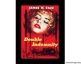 James M. Cain: Double Indemnity Pulp Cover Art
