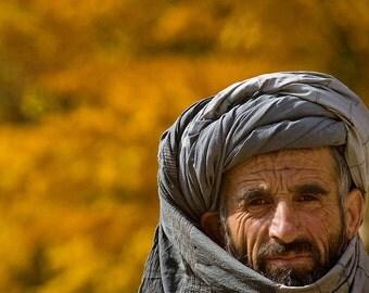 Buzkashi, Game of Afghanistan. Village Elder.