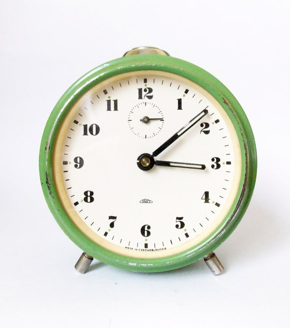 Lovely Vintage Alarm clock/Made in by HallderVintage on Etsy