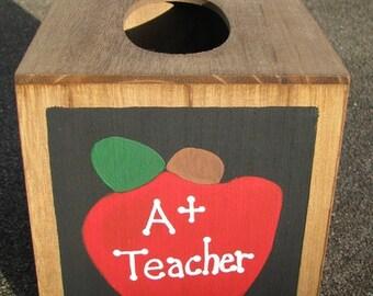 2711AP A Plus Apple  TIssue Box