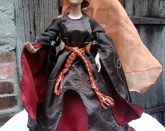 Medival gown for Tonner dolls (16inch)