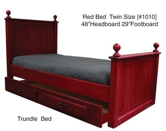 Twin Platform Bed with Trundle ,Trundle Day Bed