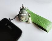 SALE 80-20%OFF: 2 Totoro Character in 1// My Neighbor Totoro iPhone Plug . Phone Charm . Phone Plug . Dust Plug - Anime, Cartoon, Girly