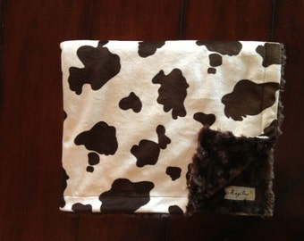 Tan and Chocolate Cow