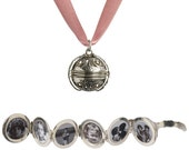 Mary, Queen of Scots Pomander Necklace - Dusky Pink