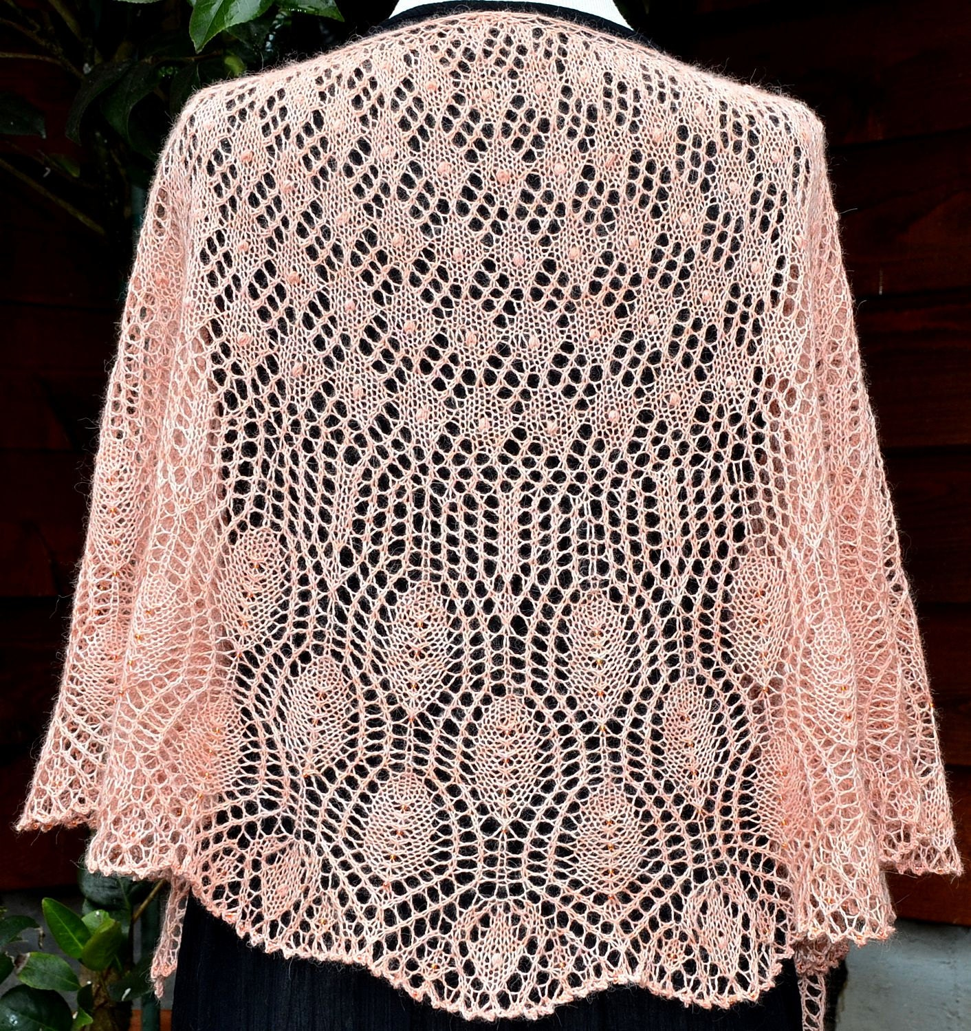 Knit Shawl Pattern Wings Of A Prayer From