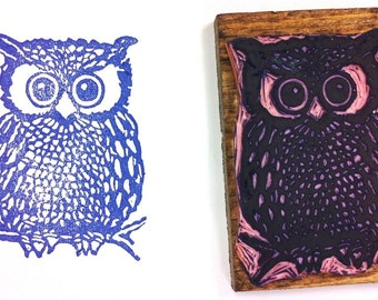 Funky Owl Stamp