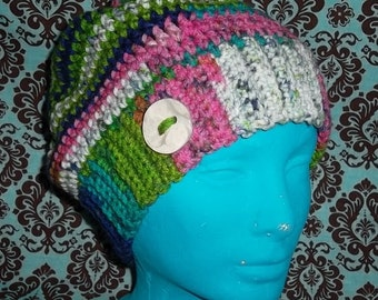 Adult slouchy hat-made to order