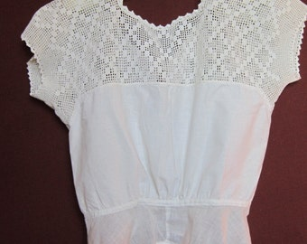 Vintage Hand Crochet Camisole