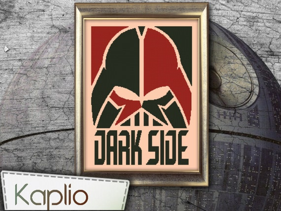 Darth Vader Cross Stitch Pattern [PDF FILE]