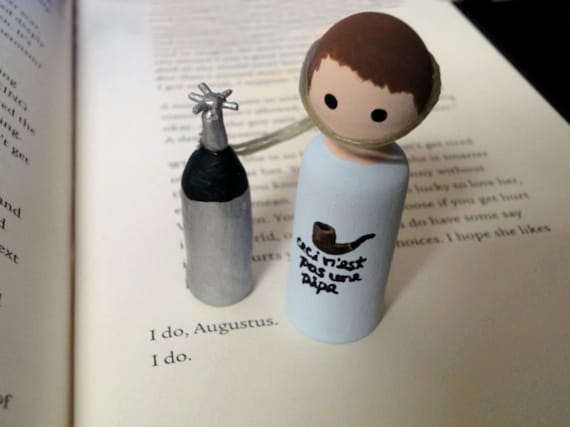 Hazel Grace Lancaster Peg Doll From The Fault In By