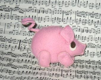 Cloth little pig