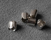 80 pcs 6.5mm in nickel color  cap for tassel Findings   M32