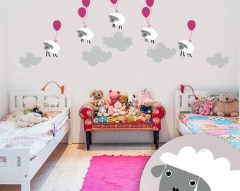 Kids room decor - Kids room wall decal - Kids room wall art - Wall decal kids / 038