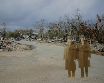 Visitors From the Past- Mississippi Ghost Photograph After Hurricane Katrina