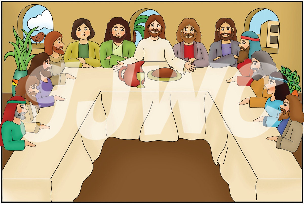 Last Supper Kids Craft Ideas