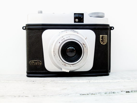 Vintage germany camera Certo Phot vintage 75mm photo rare camera roll film collectable old camera retro photography mid century camera 50s