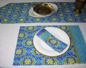 "Placemats - Table E-Scapes: ""My Casbah or Yours""  - Set of 4"