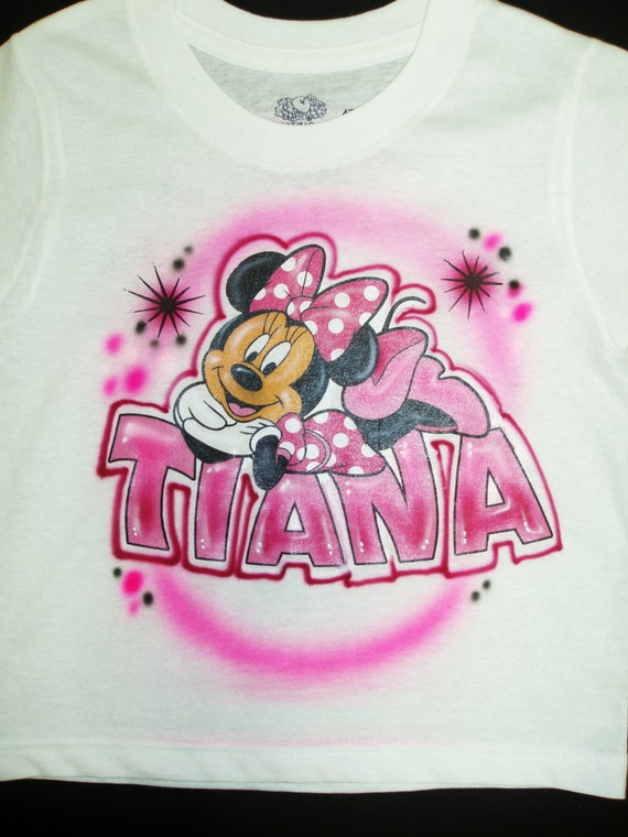 T shirt heaven on etsy for Custom made airbrushed shirts