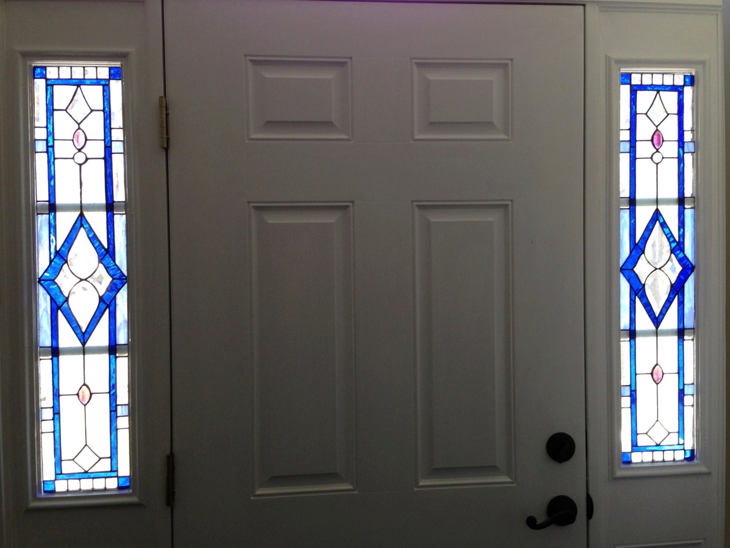 1125 #0830C3 Stained Glass Sidelights image Stained Glass Entry Doors 41831500