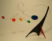 Peacenik Modern Art Sculpture Mobile Stabile Table Top Abstract Kinetic Decor
