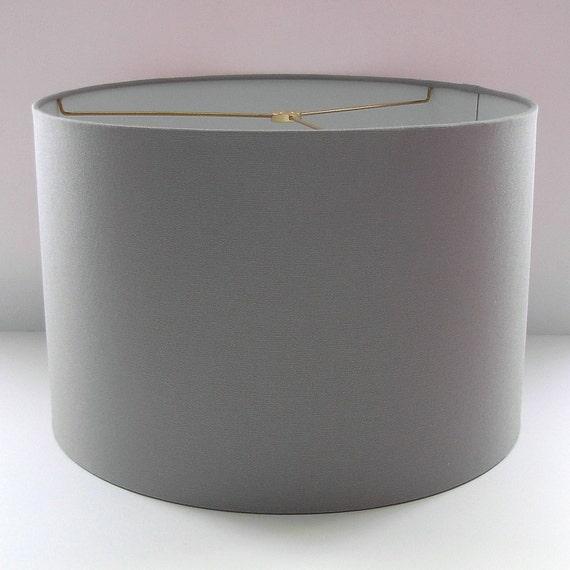 Grey Lampshade Drum Lamp Shade Grey By Pookadellashomedecor