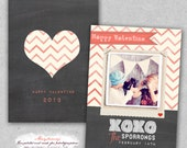 Valentine Card Template for Photographers