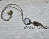 Weeping Angel Inspired Necklace